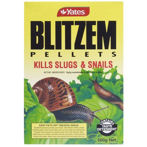 Yates 500g Blitzem Snail & Slug Pellets