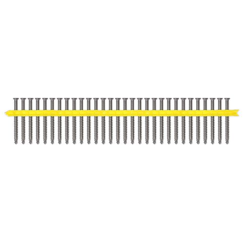 Simpson Strong-Tie 12g x 60mm Quik Drive Hardwood To Hardwood Collated Decking Screws - 1000 Pack