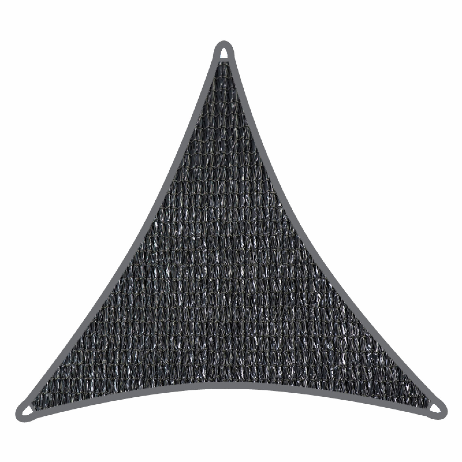 Coolaroo 3m Graphite Triangle Commercial Grade Shade Sail