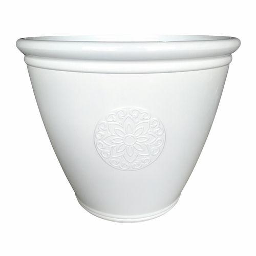 Northcote Pottery 41 x 34cm White Cottage Planter