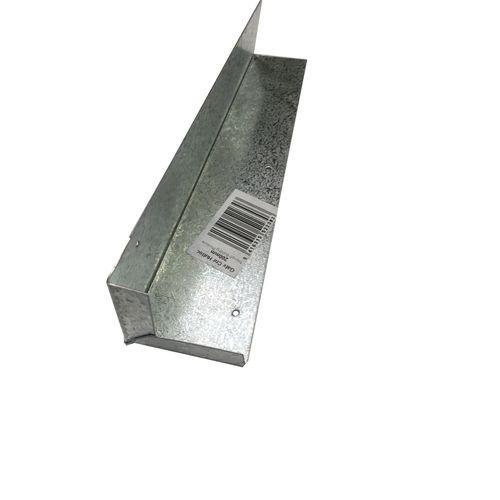 Triumph 150mm Galvanised Corner Soaker - 9mm Return
