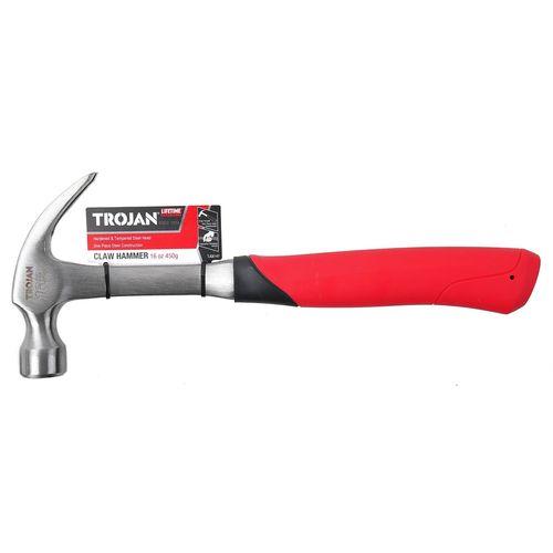 Trojan 16oz 450g Steel Claw Hammer