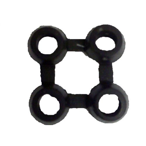 Bayliss 8 x 8cm Black Interlocker Rubber Mat