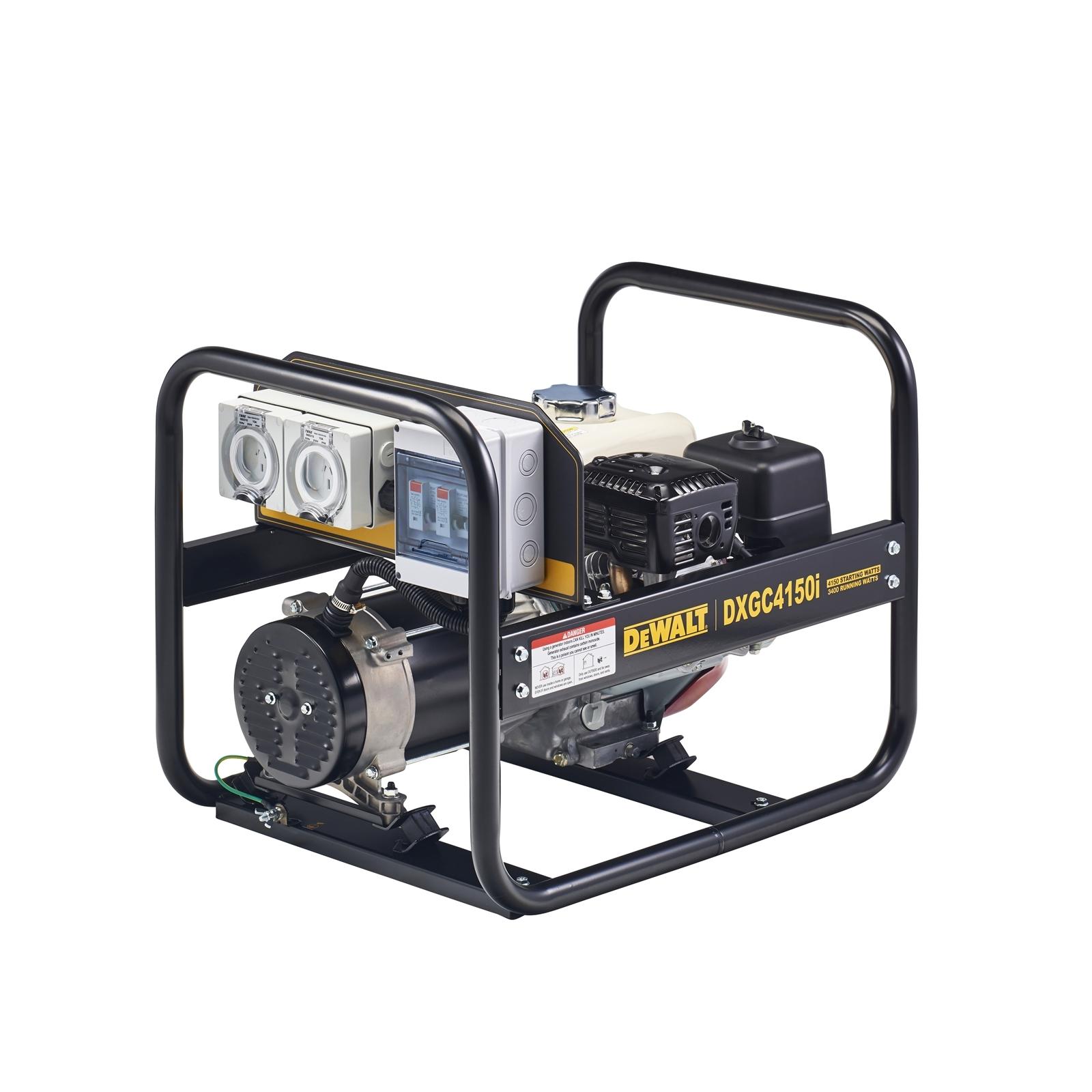 DeWALT 4.1kVA Open Frame Petrol Generator