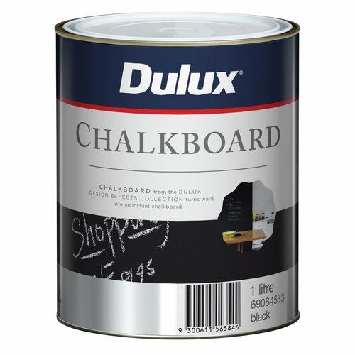 Dulux Design Black Chalkboard Paint