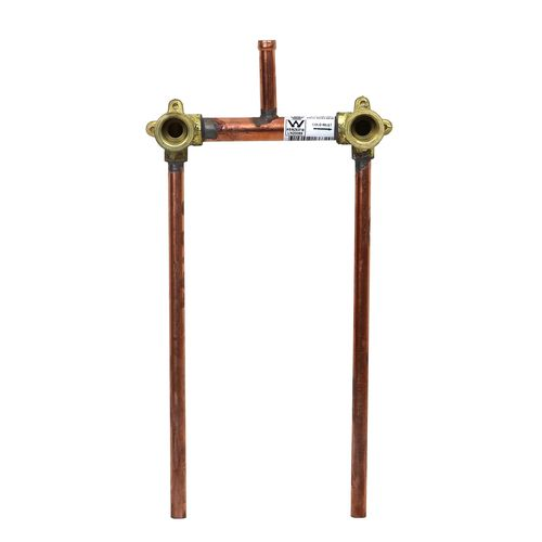 Brasshards 150mm 15mm x 75mm Riser Shower Assembly With 300mm Tails