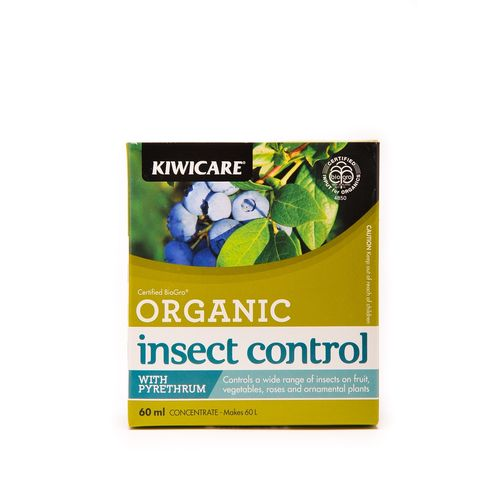 Kiwicare 60ml Organic Insect Control With Pyrethrum