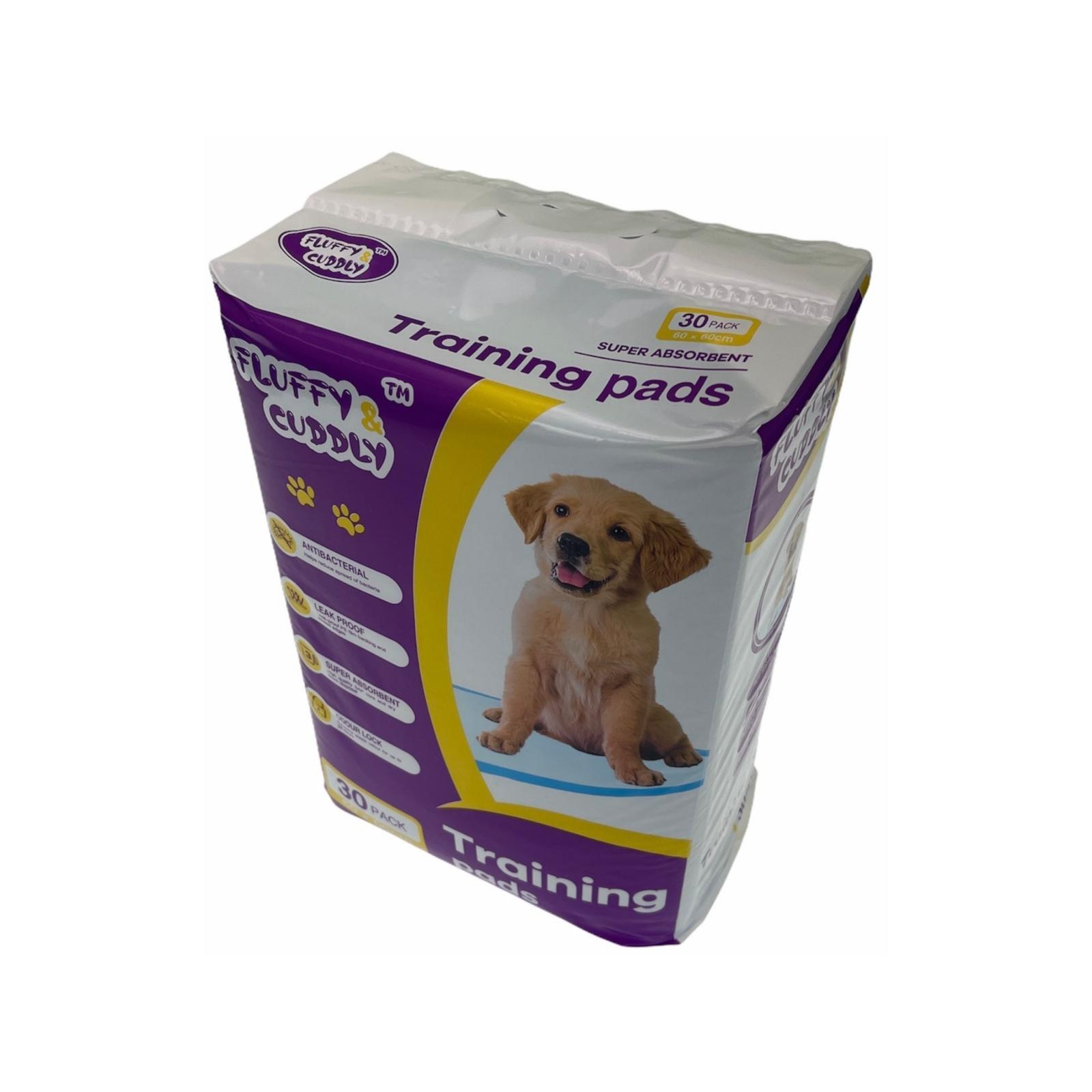 30 Puppy Pet Dog Indoor Cat Toilet Training Pads Super Absorbent 60x60cm