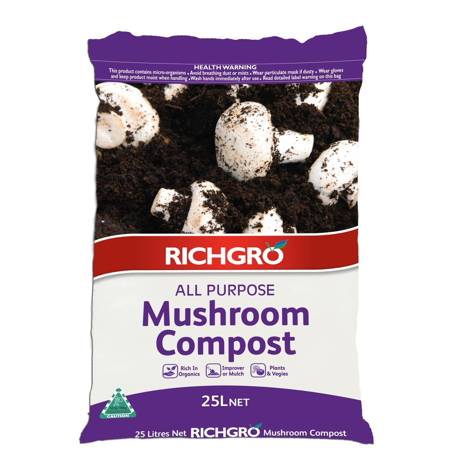 Richgro 25L All Purpose Mushroom Compost