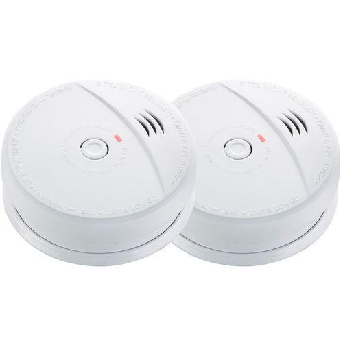 Fire Pro 9V Photoelectric Smoke Alarm - 2 Pack