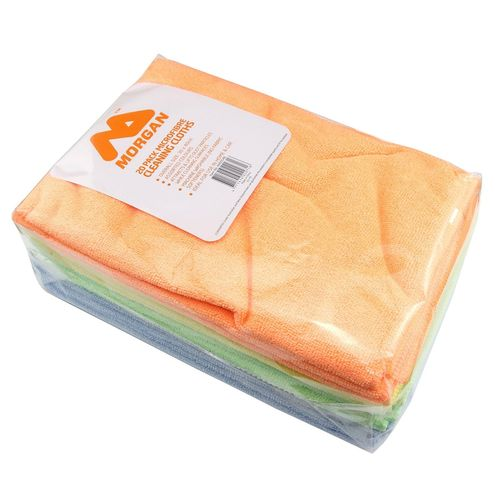Morgan Microfibre Cleaning Cloth - 20 Pack