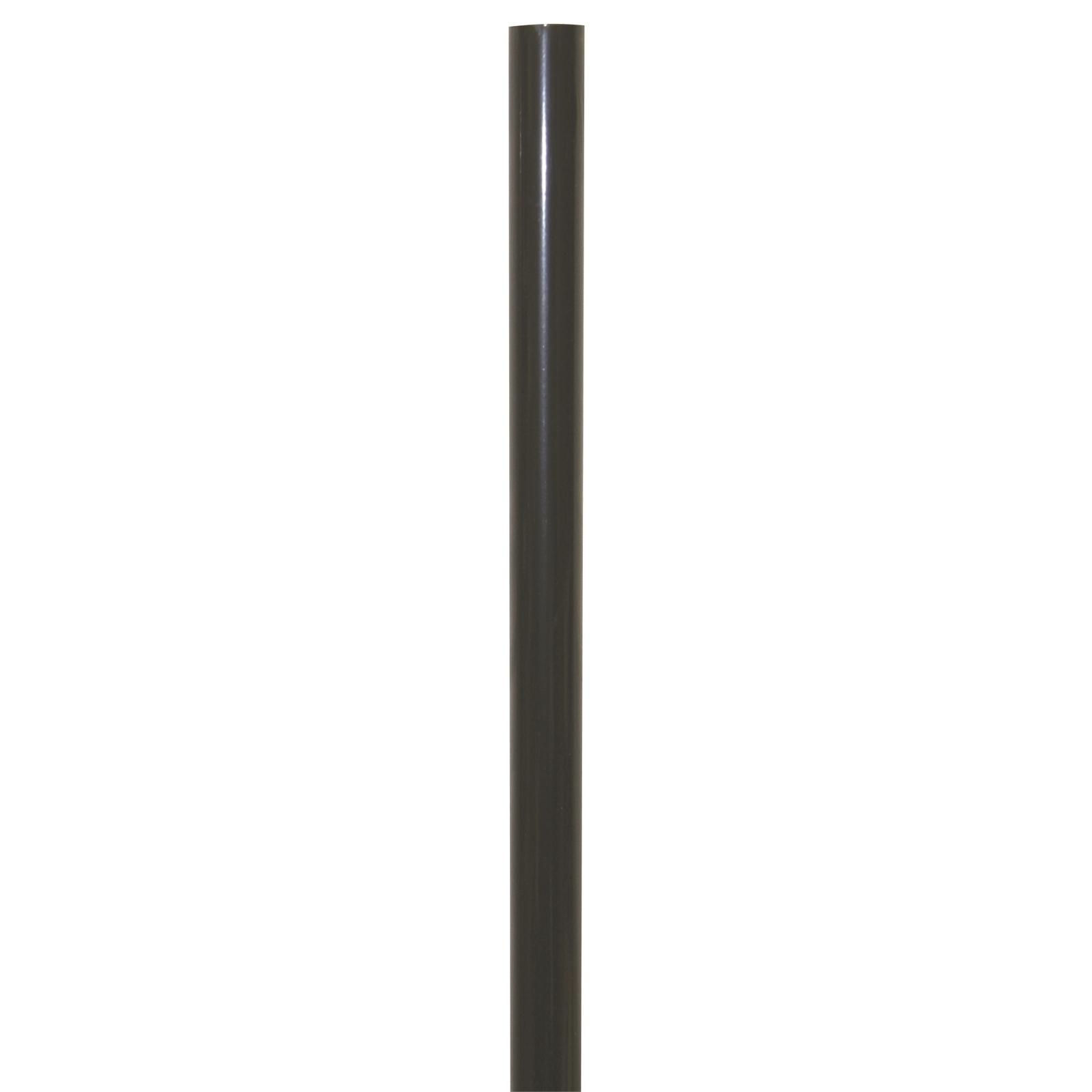 Windoware Curtain Rod 19mm x 2.0m Wrought Iron Black