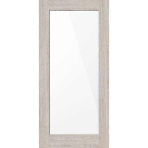 inBuilt 25 x 2100 x 1000mm Drift Wood Shaker Single-Sided Mirror Barn Door