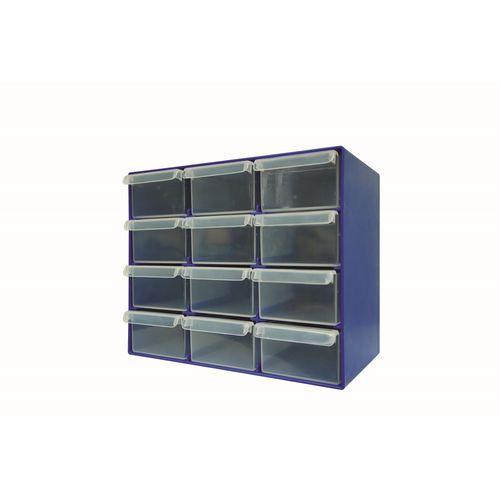 Handy Storage 12 Drawer Compartment Organiser