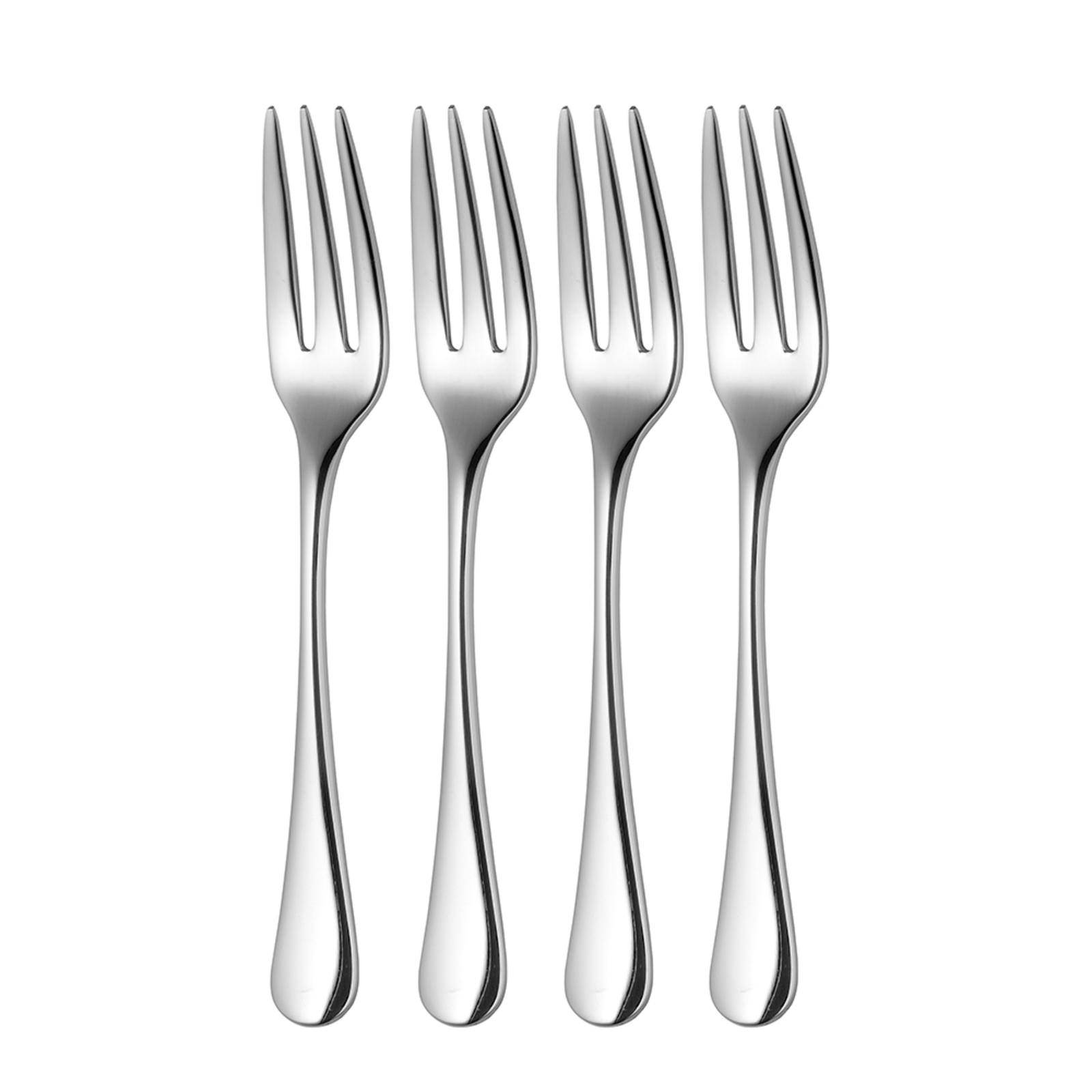 Robert Welch Radford Bright Pastry Fork - Set of 4