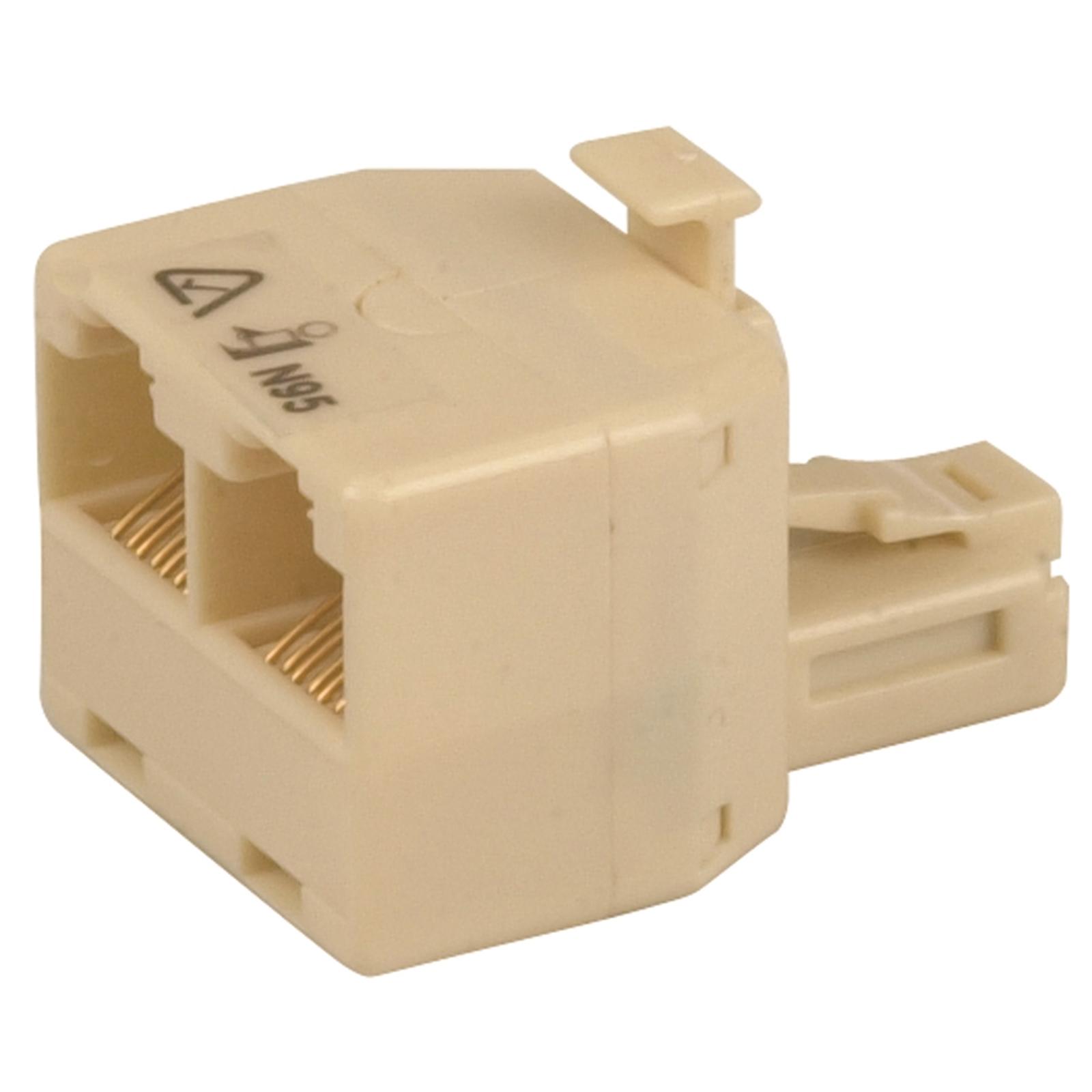Jackson Double Adaptor RJ45 Type Connector Telephone Accessory