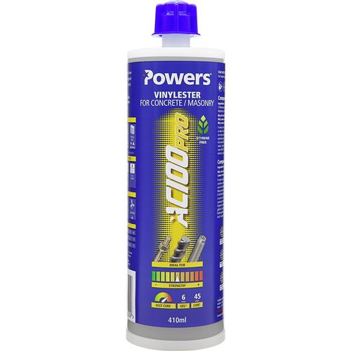 Powers AC100 Pro Vinylester For Concrete / Masonry