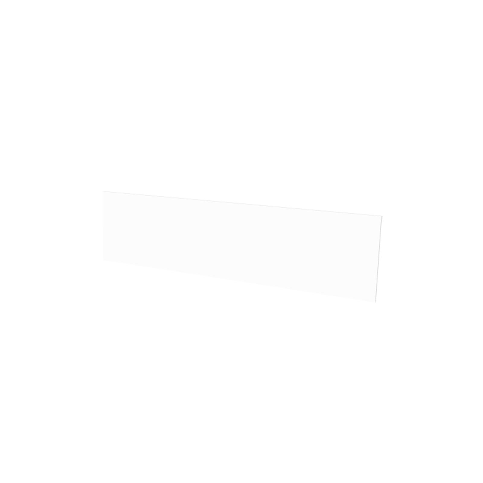 Vistelle 1200 x 300 x 4mm Salt High Gloss Acrylic Vanity Splashback