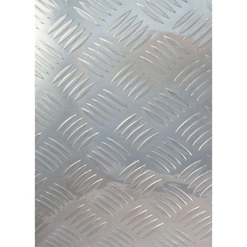 Metal Mate 600 x 450 x 2mm Aluminium Tread Plate