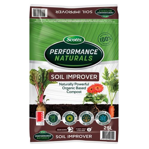 Scotts  25L Performance Naturals Soil Improver