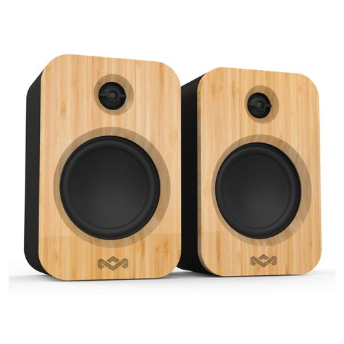 Marley Get Together Duo Bluetooth 5.0 Wireless Rechargeable Speakers RCA/AUX-IN