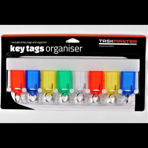Taskmaster Key Tag Organiser - 8 Pack