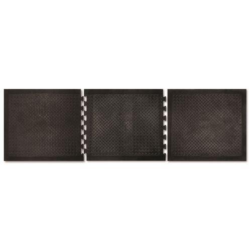 Matpro 700 x 800mm Black Solid Workshop Mat