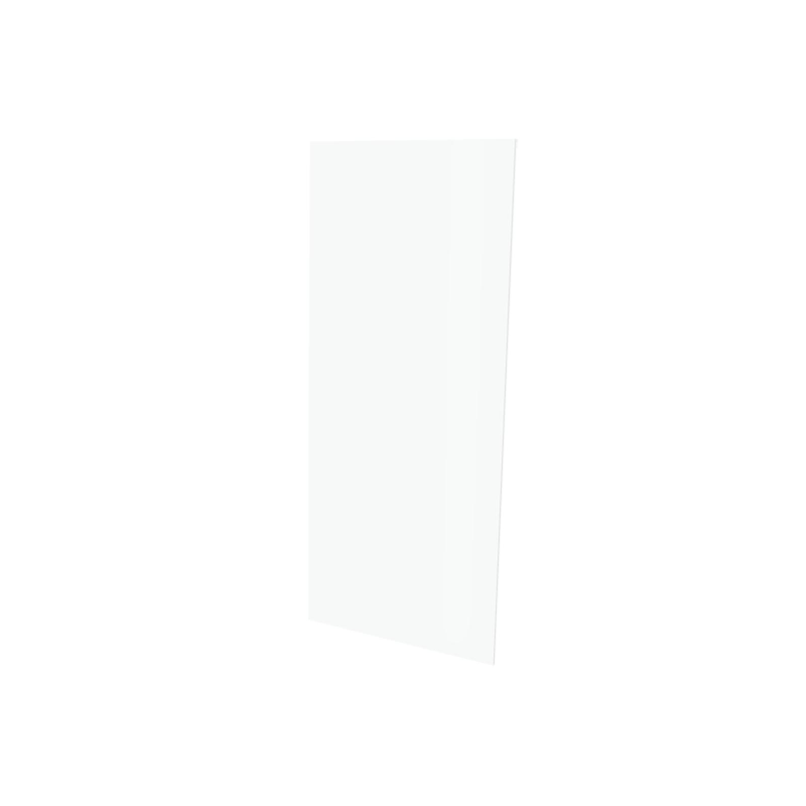 Vistelle 2070 x 900 x 4mm Salt High Gloss Acrylic Bathroom Panel