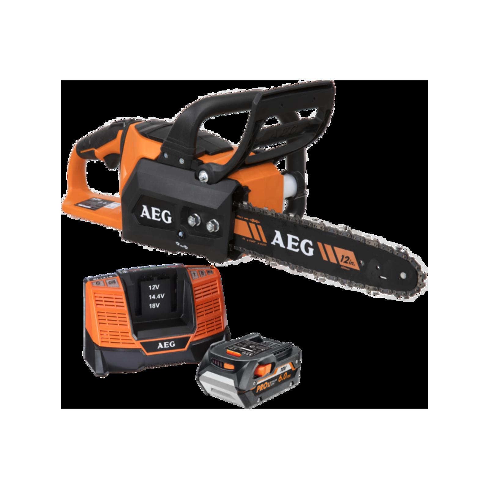 AEG 18V Brushless Chainsaw Kit