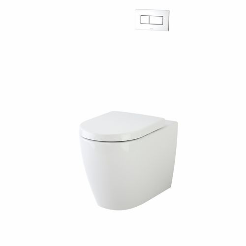 Caroma Urbane Wall Faced Invis II Toilet Suite With Arc Soft Close Seat