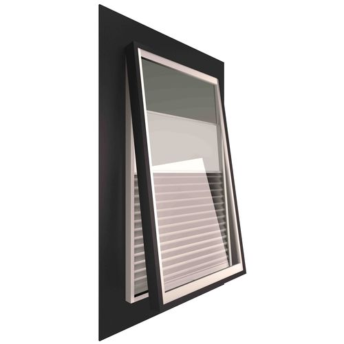 Ezylite 800 x 550mm Smart Glass Opening Roof Window For Tiled Roof