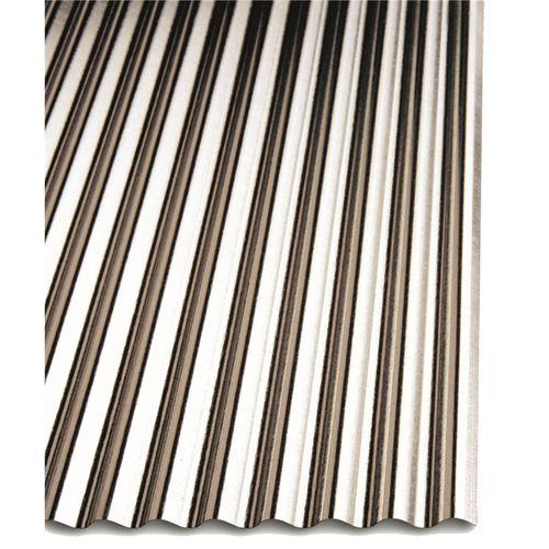 Metal Mate 2400 x 634mm Mini Ripple Iron Sheet Cladding