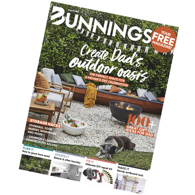 bunnings magazine august 2021 cover