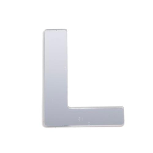 Sandleford 25mm L Silver Self Adhesive Letter