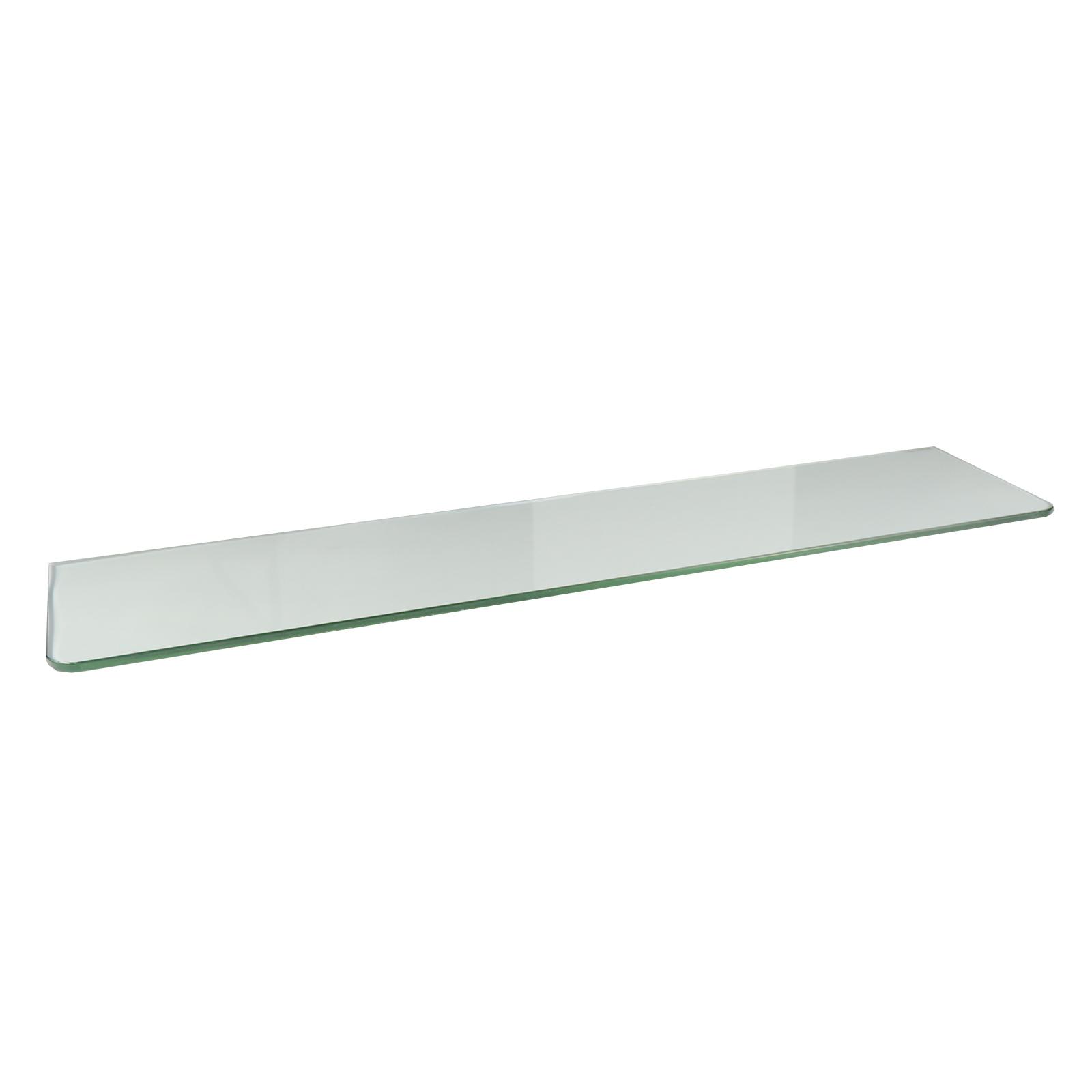 Flexi Storage 800 x 200 x 8mm Clear Glass Shelf