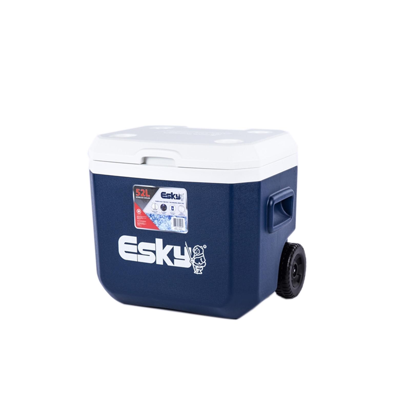 Esky 52L Wheeled Hard Cooler
