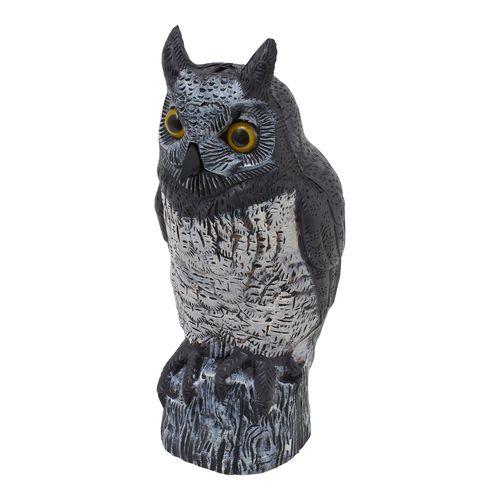 Saxon 41cm Brown Owl Bird Scarer