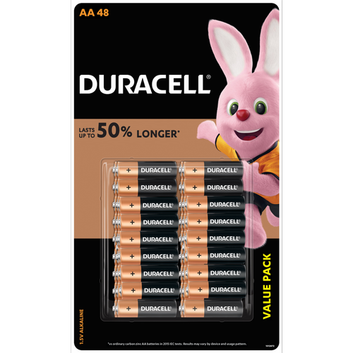 Duracell Coppertop AA48