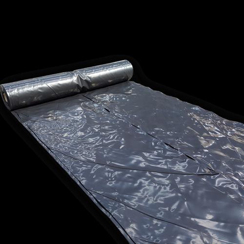 Empak 2 x 50m 250mu Black Polythene