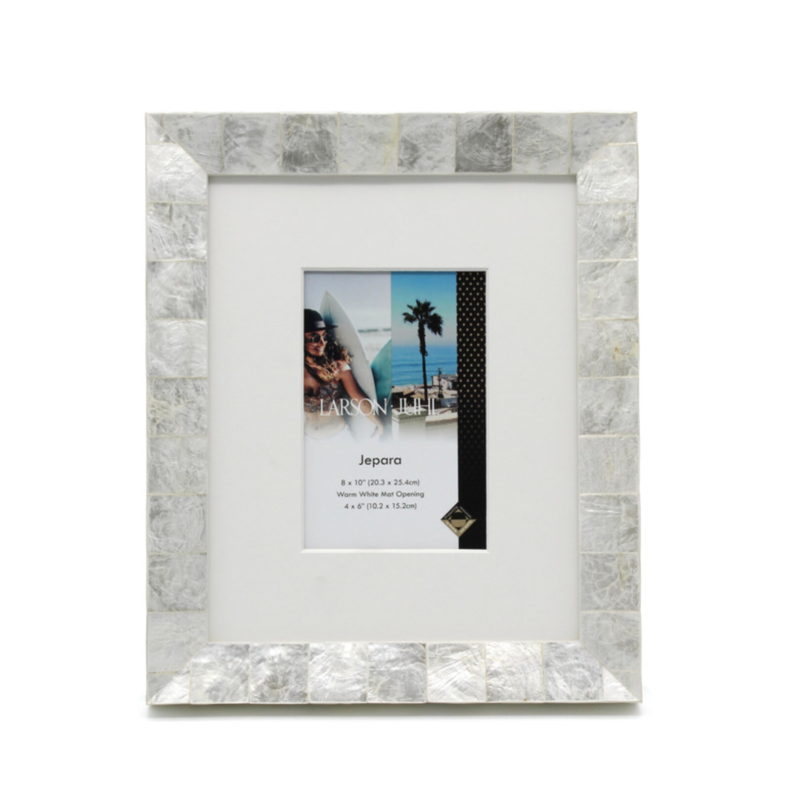 Jepara 8 x 10inch/4 x 6inch Opening Photo Frame