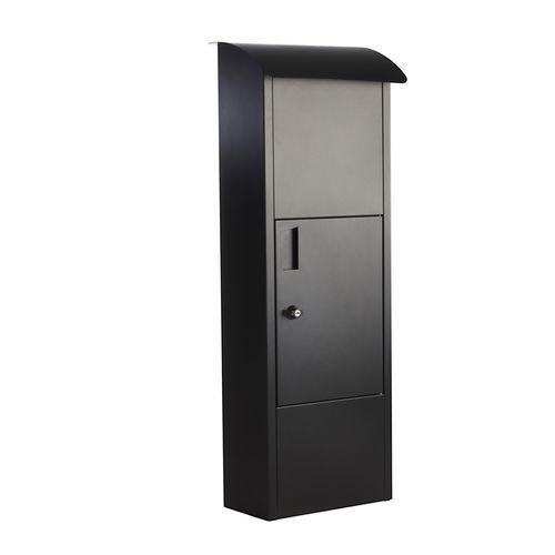 Sandleford Black Slimline Parcel Box