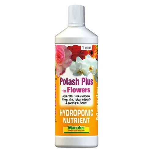 Manutec 1L Hydroponic Potash Plus For Flowers