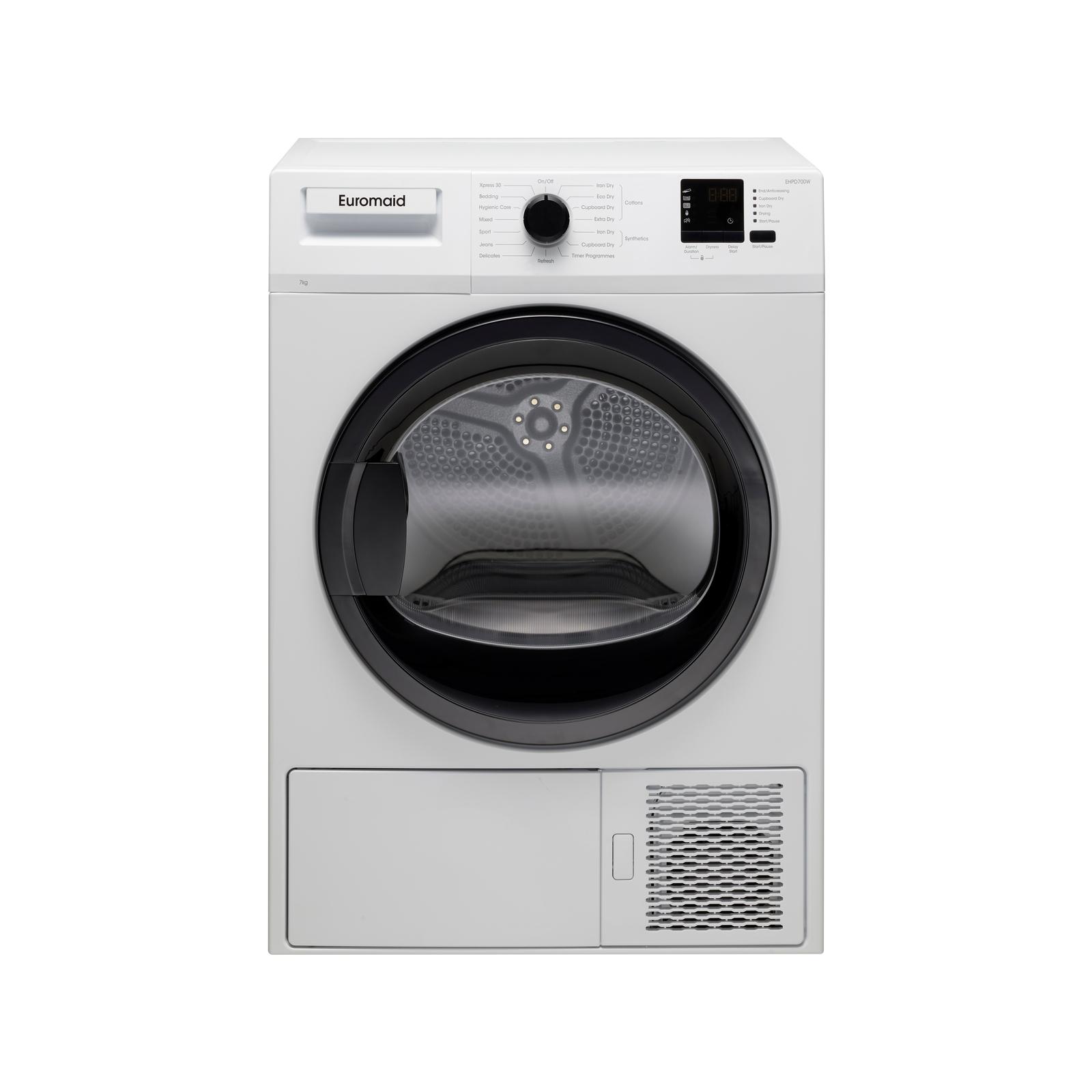Euromaid EHPD700W 7kg Heat Pump Dryer