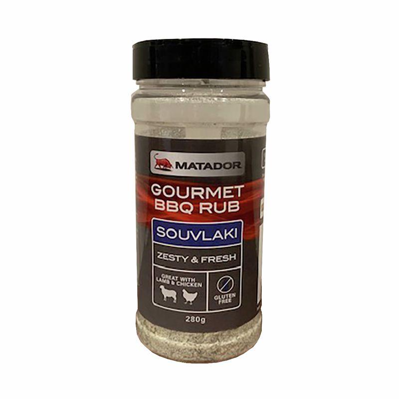 280g BBQ Rub .319kg Gluten Free Souvlaki