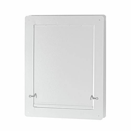Pinnacle 405 x 330mm White Pet Door