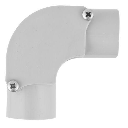 Deta 32mm Grey Conduit Fittings Inspection Elbow
