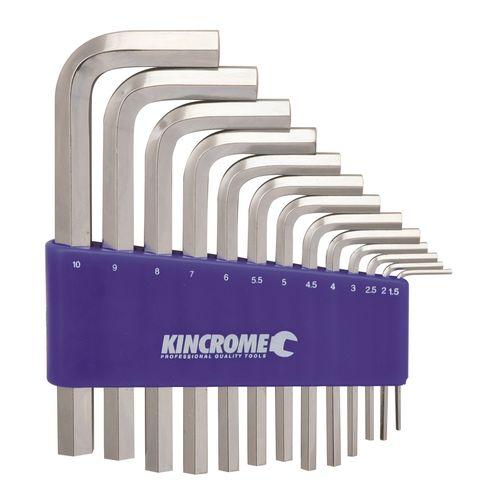 Kincrome 13 Piece Mirror Metric Hex Key Set