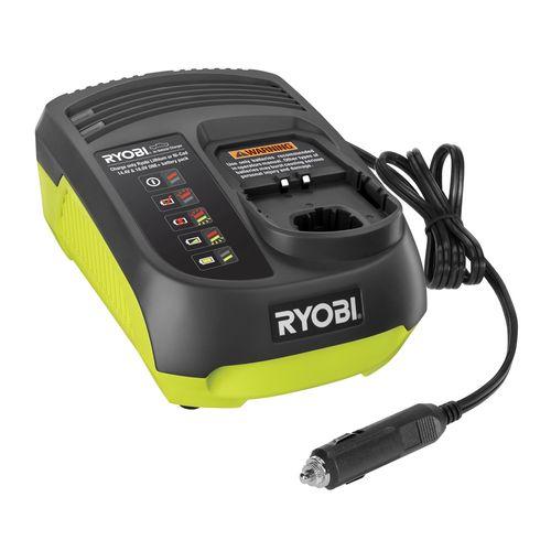 Ryobi One+ 14.4-18V Dual Chemistry Car Battery Charger
