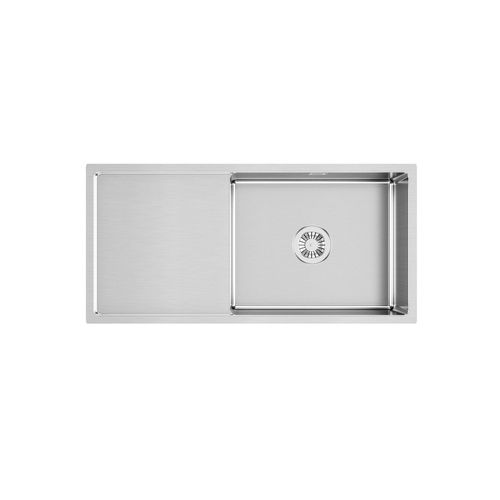 Sergio UBSH-930D Urbane Handmade Single Stainless Sink with Smooth Drainer