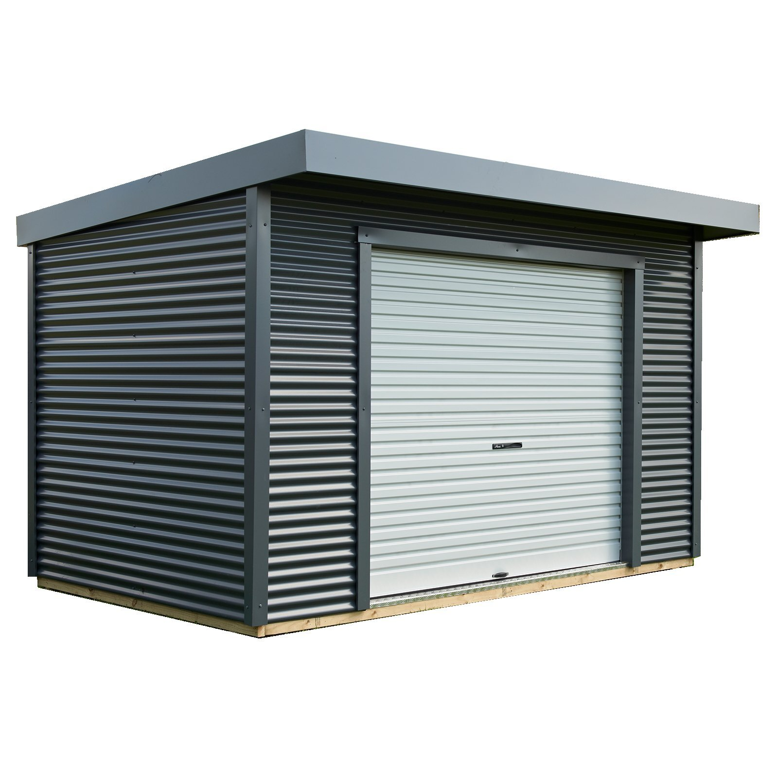 Duratuf 3.9 x 2.55m Lifestyle Kaipara Pre Painted Steel Shed